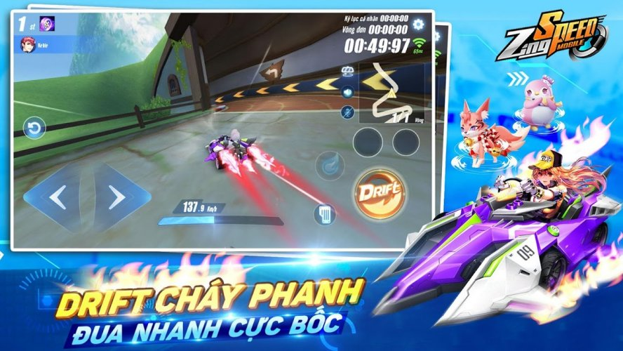 Tải game Zingspeed Mobile Hack cho android