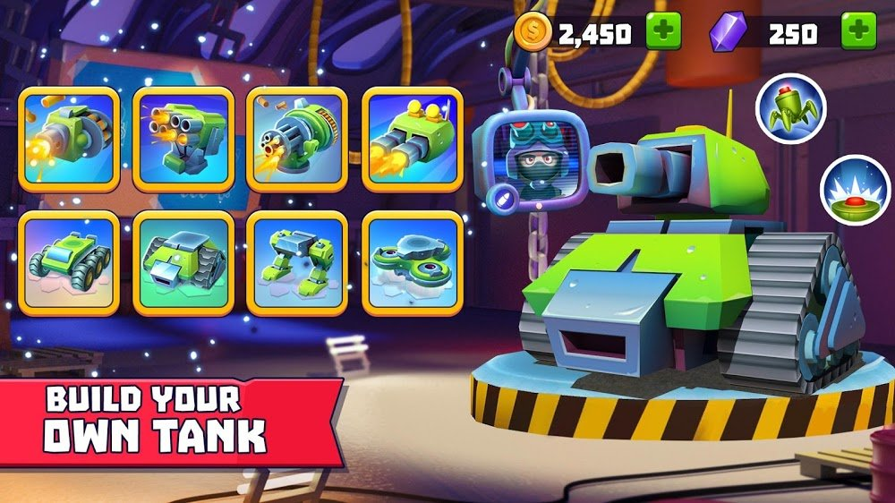 Tải game Tanks A Lot! MOD cho Android